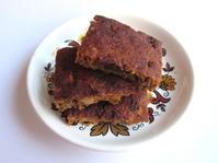 <イギリス菓子・レシピ> ニンジンとヒヨコ豆のベイク【Carrot and chickpea Squares】 - イギリスの食、イギリスの料理&菓子
