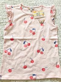 シュタイフのピンクの女児用Tシャツ2点☆ - ドイツより、素敵なものに囲まれて②