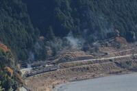 大井川河畔に紫煙舞う- 2017年・大井川鉄道 - - ねこの撮った汽車