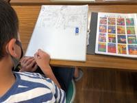 一宮教室、児童コース、水曜日の様子。 - 大﨑造形絵画教室のブログ