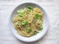 <イギリス料理・レシピ> ソラマメのスパゲッティ【Broad Beans Spaghetti】 - イギリスの食、イギリスの料理&菓子