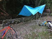 近所でソロキャンプ - 昭和な日々