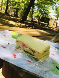 公園で朝ご飯。 - 素敵生活 Low costでも豊かに