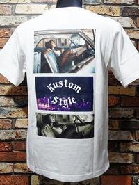 kustomstyle カスタムスタイル Tシャツ カラー:ホワイト/ブラック 5,940円(内税) 再入荷 - ZAP[ストリートファッションのセレクトショップ]のBlog
