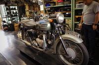 火曜日の授業風景~ボロ車の旨味~ - Vintage motorcycle study