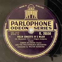 通販サイトにヴァイオリンのSPをアップしました その3 - シェルマン アートワークス 蓄音機blog