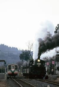 真岡鉄道早春 - new 汽車の風景