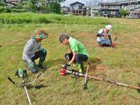 草刈りイベントを開催しました! - 浦佐地域づくり協議会のブログ