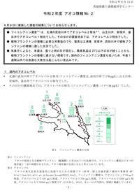 【アオコ情報(No.2)】 - ぴゅあちゃんの部屋