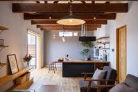 ルームツアー《二世帯住宅の二階リビング編》 - カフェスタイルの家づくり~Asako's WORK & LIFE