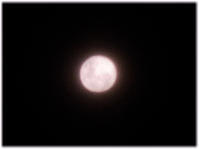 5日の満月はストロベリームーンだった - nazunaニッキ