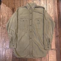 40's USN コットンポプリンシャツ - Clothing&Antiques Fun