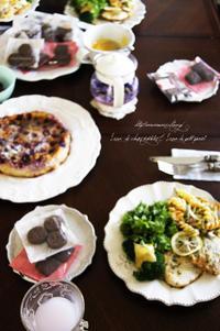 6月のカフェシェソア。 - mama's cafe & mama's table