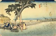 袋井・見附(広重『東海道五十三次』13) - 気ままに江戸♪  散歩・味・読書の記録