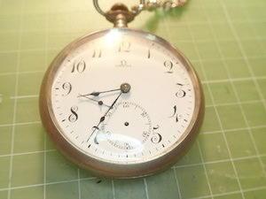 懐中時計を直す - 湧雲日記