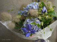 お花の定期便@Marylebone - お茶をどうぞ♪