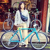 ☆限定色大人気 ライトウェイ特集☆自転車女子 自転車ガール 自転車ボーイ クロスバイク ライトウェイ おしゃれ自転車 マリン ターン シェファード パスチャー スタイルス - サイクルショップ『リピト・イシュタール』 スタッフのあれこれそれ