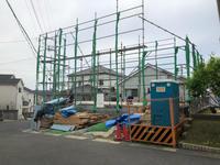 高台の家進捗状況 - 国産材・県産材でつくる木の住まいの設計 FRONTdesign