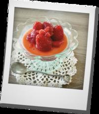苺のパンナコッタ - khh style