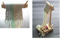 マクラメ台 - オルサのミニ手織機・卓上組紐台