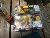 代々木公園でお弁当デビュー♪2か月の外出自粛だったので、すごくリラックスしたよ♪ - ルソイの半バックパッカー旅