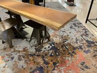 一枚板カウンターテーブル - SOLiD「無垢材セレクトカタログ」/ 材木店・製材所 新発田屋(シバタヤ)