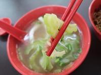 ゴーヤ・スープのフィッシュヌードル - コタキナバル 旅行記・ブログ