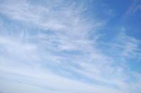 絡まる雲(巻雲) - いま、そこにある雲