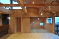 構造用合板仕上げのリビング! - 島田博一建築設計室のWEEKLY  PHOTO / 栃木県 建築設計事務所