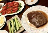 ニクと野菜だけの夕ごはん。 - よく飲むオバチャン☆本日のメニュー