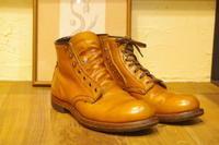 【RED WING】ベックマンのハトメをフックにチェンジ - Shoe Care & Shoe Order 「FANS.浅草本店」M.Mowbray Shop