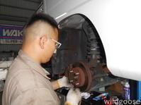 TT2サンバートラック車検整備中(^^♪ - ★豊田市の車屋さん★ワイルドグース日記