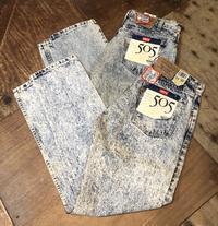 6/18 入荷!80sデッドストックアメリカ製Levi's 505 リーバイス505WHTE WASHジーンズ! - ショウザンビル mecca BLOG!!