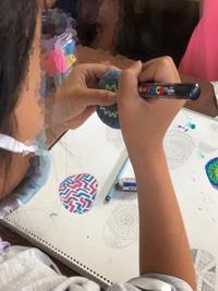 稲沢教室、火曜日、児童コースの様子。 - 大﨑造形絵画教室のブログ