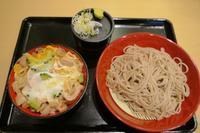 332杯目:富士そば三光町店でミニゴーヤ豚とじ丼セット - 富士そば原理主義