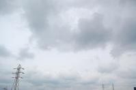どんよりした空模様(高層雲、積雲) - いま、そこにある雲
