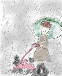 梅雨ですなぁ - La Vie en rose  バラ色の人生