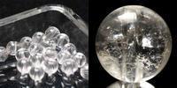 神聖なカンチェンジュンガ産のヒマラヤ水晶ビーズ - すぐる石放題