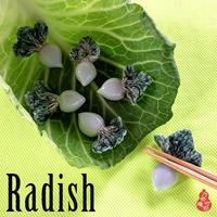 食卓のワンポイント、野菜の箸置き - nonacafe庵『奥の院』通常観覧