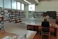 東金図書館の閲覧席が利用可能に - 東金、折々の風景