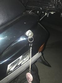 スーパーディオのメットイン鍵交換 - ぴかぴか御朱印バイク出張所