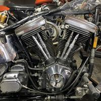 昭和65年製スプリンガーソフテイルのエンジンが組み上がったので乗ってみよう! - ウエスティー、味な店、ハーレー日記