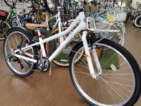 アッソンジュニアのホワイトが人気 - 滝川自転車店