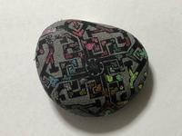 稲沢教室、児童コースの拾われて良かった石。その2。 - 大﨑造形絵画教室のブログ