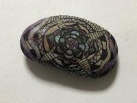稲沢教室、石の作品がキラキラしてます。その4。 - 大﨑造形絵画教室のブログ