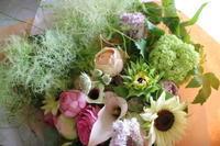 6月21日(日)父の日その2。 - 金沢市 花屋 フローリストビーズニーズ blog