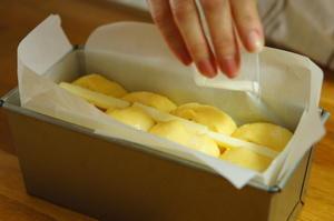 バタートップにのせるバターはあえて有塩! - 大阪 北摂 茨木 南茨木 パン教室choco cafe* 初心者歓迎 手ごねパン作り