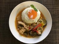 おうちで世界の料理タイ編レッドカレー - ワクワク♪ハマっ子野菜作り♪