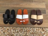 サンダル作りワークショップはじめます - jiu sandals & baby shoes
