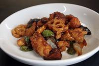れんこんと鶏肉のピリ辛炒め - 中国料理 西湖